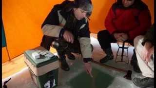 Зимняя рыбалка в Грузии (part2)(Студия «GMC