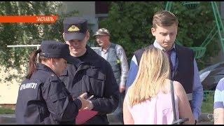 Вооруженный ножом мужчина удерживал заложницу в Заславле