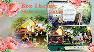 Miniature in a Tin Can?! Box Theatre: Countryside Notes Miniature Tutorial