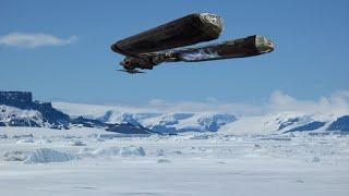 ОНИ прибыли! В Антарктиде приземлился огромный инопланетный корабль