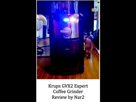 Krups GVX2 Expert Coffee Grinder Quick Look Home Review