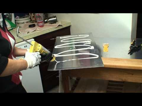 1005 Design Metal Backsplash Install