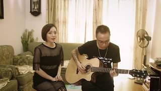 Ghen ( Erik ft Min ) - V.C Tùng Acoustic, Dương Thùy Ngân  ( Cover )