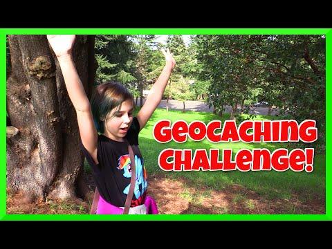 Geocaching Treasure Hunt Challenge - Fun Family Activity!