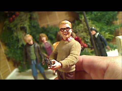 NECA Christmas Story Action Figures Review