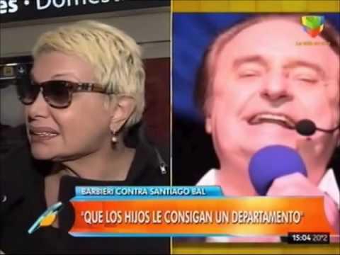 Carmen Barbieri deja sin techo a Santiago Bal: Yo mantengo a mi mamá