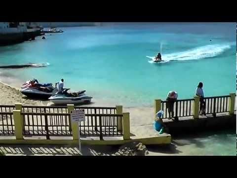 Jetskiing in Montego Bay, Jamaica