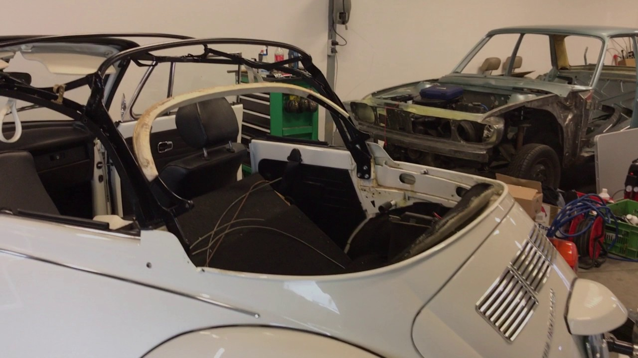 Vw Super Beetle Convertible Soft Top Installation 1303