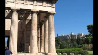 Храм Гефеста. Греция(Гефест - древнегреческий бог огня и металлообработки. Среди обитателей Олимпа он был единственным богом,..., 2014-07-26T17:48:47.000Z)