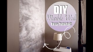 DIY Marble Wall Master Bedroom Remodel Episode Two!
