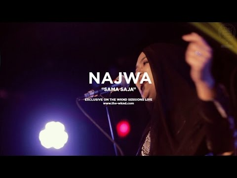 Najwa Mahiaddin | Sama Saja (Live on The Wknd Sessions, #105)