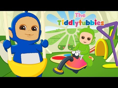 NEW Tiddlytubbies Cartoon Series! ★ Episode 1: The Baby Bouncer | Cartoons for kids