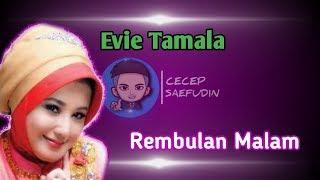 Gambar cover Karaoke Evie Tamala - Rembulan Malam