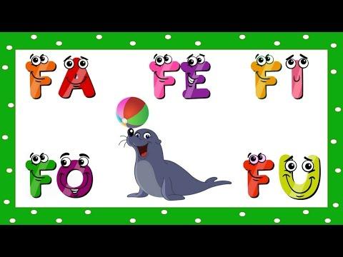 Vídeo Educativo Infantil - Alfabetização Fa Fe Fi Fo Fu