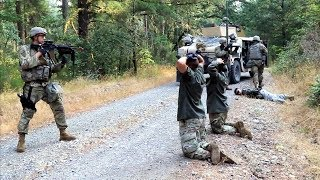 army military police field training