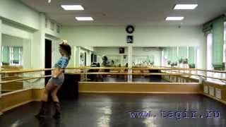 Видео уроки танца живота: Ковбойский танец (5 часть спиной)