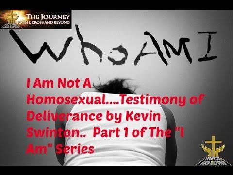 Homosexual deliverance testimonies