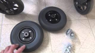 Wheelchair Repair Part 1
