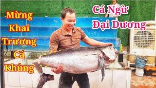 Xem đầu bếp Việt Nam múa đao xe con cá Ngừ Đại Dương như nhật Bản | Saigon Travel