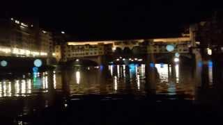 Notte bianca river of light by creatmosphere , Florence