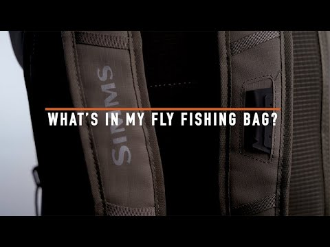 What's In My Fly Fishing Bag? With The 2020 Simms Dry Creek Z Backpack
