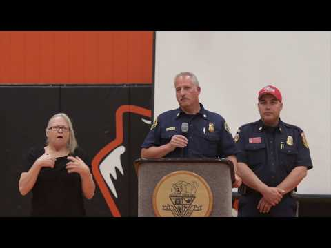 Sonoma County Fires Community Meeting October 19, 2017