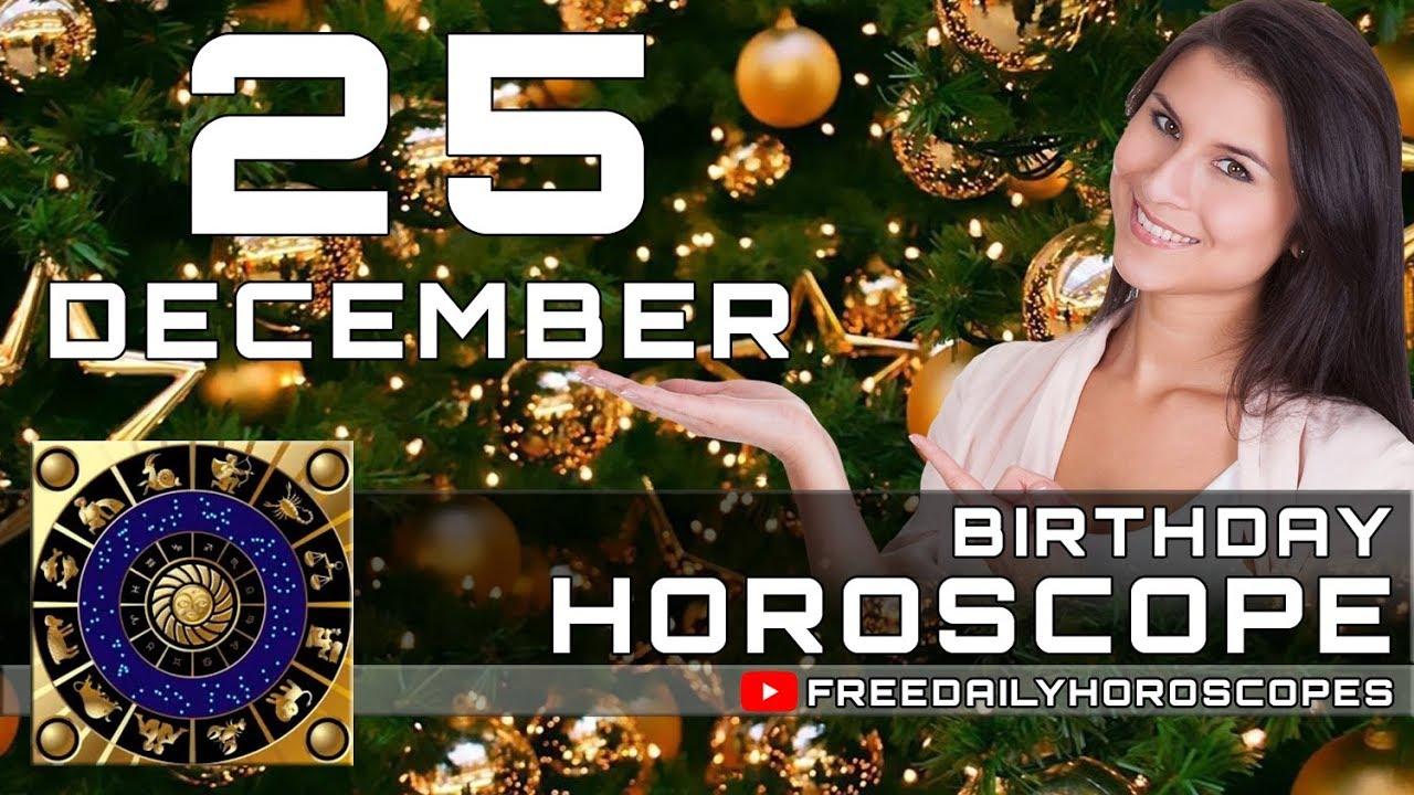 25 december horoscopes