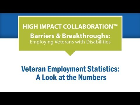 Veteran Employment Statistics: A Look at the Numbers