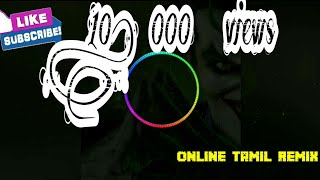 Karna Karna Kabalam remix|| #Rowdy song ||Mix Master Crew || DJ LOVE RAJESH || TAMIL Super hit song