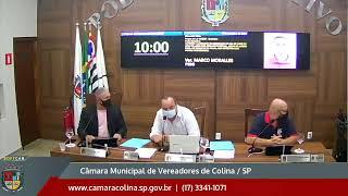 Câmara Municipal de Colina - 17ª Sessão Extraordinária 07/10/2021