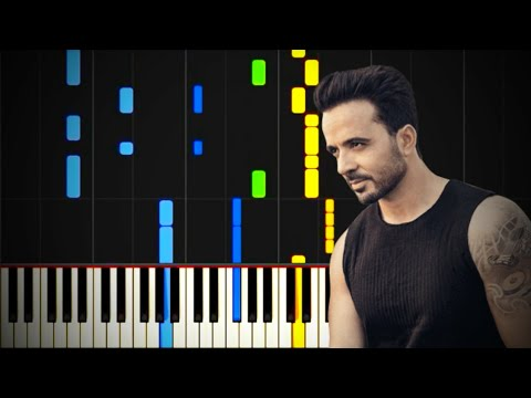 Despacito - Luis Fonsi ft. Daddy Yankee - Piano Tutorial By AWF Music ID
