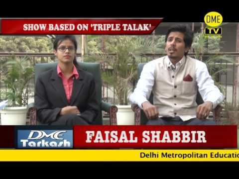 EPISODE 1 - DME TARKASH - TRIPLE TALAQ
