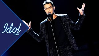 Liam Cacatian Thomassen - One last time | Idol Sverige 2016 (TV4)