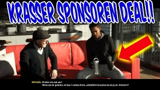 FIFA 17 THE JOURNEY GAMEPLAY #14 - HUNTER MEGA SPONSOREN DEAL - STORY MODUS KARRIEREMODUS (DEUTSCH)