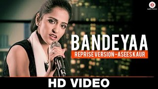 Bandeyaa - Reprise Version | Asees Kaur | Jazbaa | Amjad Nadeem | Specials by Zee Music Co.