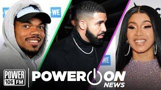 Cardi B Endorses Bernie Sanders 2020 + Drake Pulls Moves on Chris Brown In