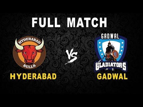 Hyderabad Bulls Vs Gadwal Gladiators Full Match HD -Telangana Premier Kabaddi - Day 2 #AsliKabaddi