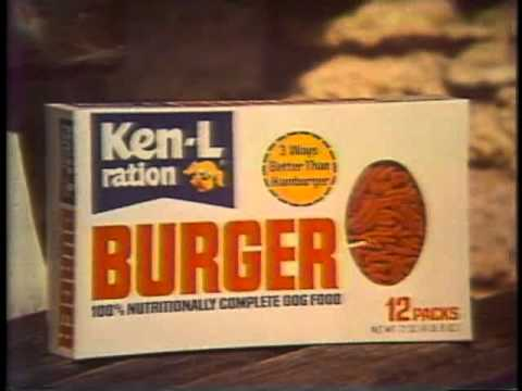 Ken L Ration Dog Food Buger