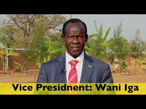 South Sudan Vice President Wani Iga SPEECH