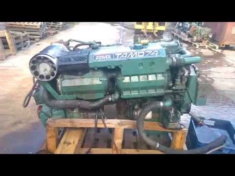 Volvo Penta TAMD74A Port Engine Run