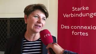 Lötschberg Komitee GV: Viola Amherd
