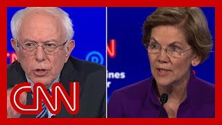 Elizabeth Warren fires back at Bernie Sanders' denial about women candidates Sen. Bernie Sanders (I-VT) denied telling Sen. Elizabeth Warren (D-MA) during a private meeting in 2018 that he did not believe a woman could win the ...
