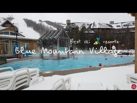 4K Blue Mountain Village | Best Ski Resorts Ontario Canada