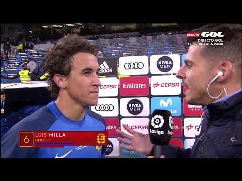 REAL MADRID-FUENLABRADA 28/11/17 INCREDIBLE GOAL Luis MIlla