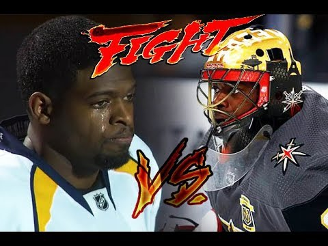 Pk Subban Vs Malcolm Subban Brother Vs Brother Golden Knights Beat