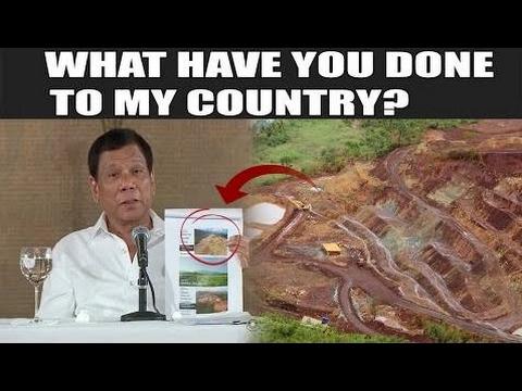 PINAGALITAN! ni Pres. Duterte ang mga MINING CORP.!: SASAMPALIN KO TALAGA KAYO! - Philippines News