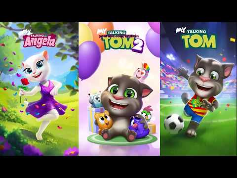 Talking Tom 2 Vs My Talking Tom Vs My Talking Angela Android Gameplay
