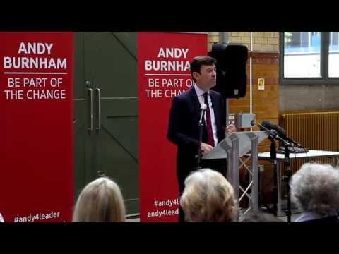 Andy Burnham - 17 August 2015