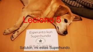 Lernu Esperanton kun Superhundo! – Leciono 5