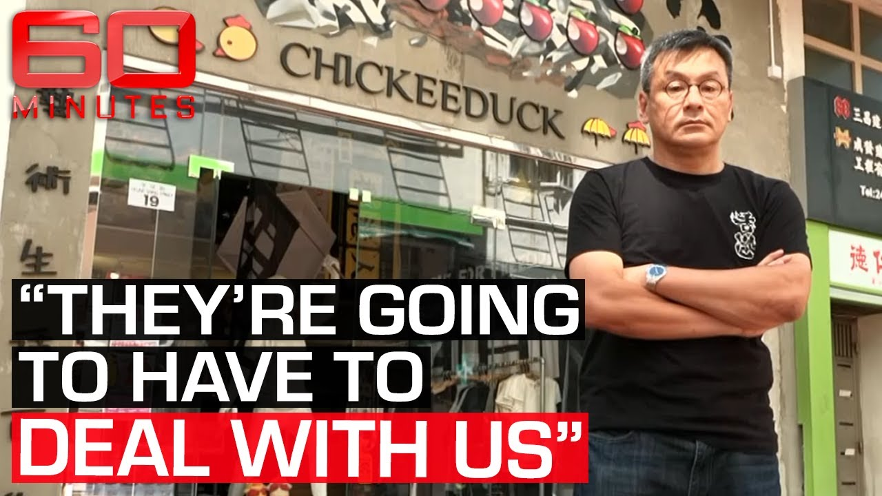 Blacklisted Hong Kong business owner stands up to Chinese authorities | 60 Minutes Australia